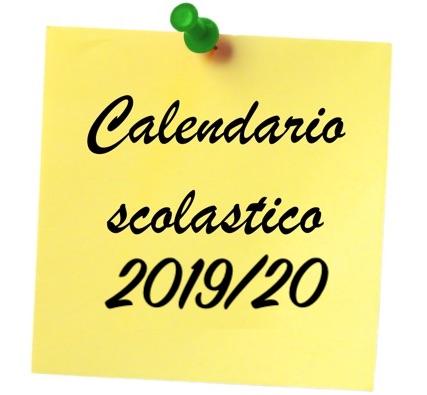Miur Calendario Scolastico.Calendario Scolastico A S 2019 2020 I I S S A Vespucci